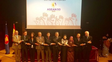 ASEAN Day: 50 Years of ASEAN, ASEAN in The Canging International Landscape and The Way Forward. (Foto: KBRI Madrid)