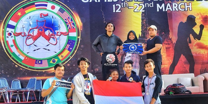 Judo UGM Raih 4 Medali di Carlson Gracie International Cup 2018