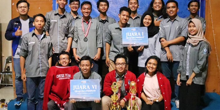 UKM Catur UGM juarai Siliwangi Chess Competition