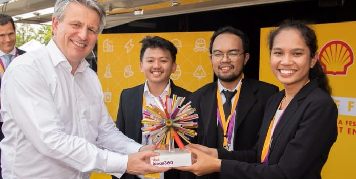 Tim Smart Car MCS UGM Juara Dunia Shell Ideas360.(Foto: Humas UGM)