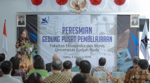 Menristekdikti Resmikan Innovative Learning Center FEB UGM.(Dok. Kemenristekdikti)