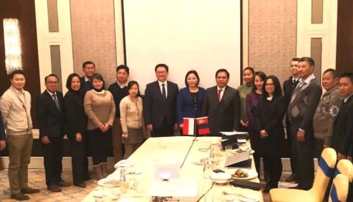 Indonesia – Mongolia Business Dialogue and Gathering.(Foto: KBRI Beijing)