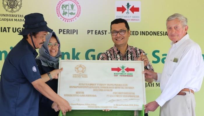 UGM Resmikan Bank Genetika Sayuran Pertama di Indonesia.(Foto: Dok. Humas UGM)