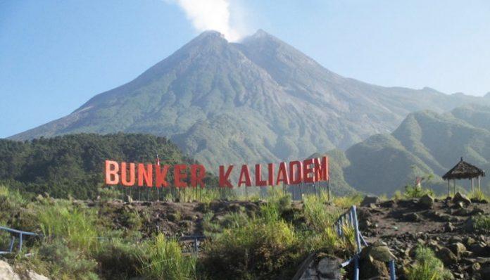 Sisa-sisa material Merapi masih kentara di sudut-sudut bunker ini.(Foto: lifestyle.okezone.com)