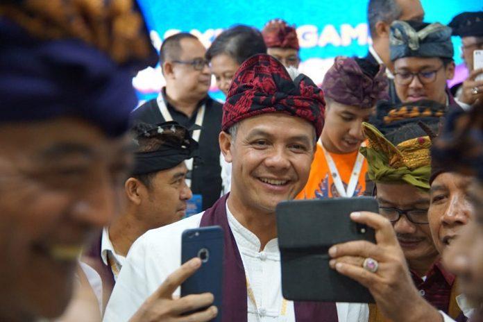 Ganjar Pranowo kembali dipercaya menjadi Ketua Umum PP Kagama. Foto : Taufiq Hakim/KAGAMA