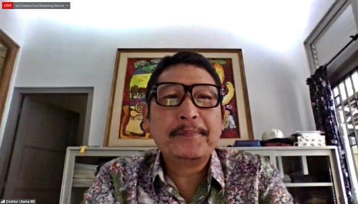 (Foto: Dirut PT Bursa Efek Indonesia Inarno Djajadi) Perputaran ekonomi yang tengah terpuruk bukan penghalang bagi mereka yang ingin memulai berinvestasi saham. Dok. Ist