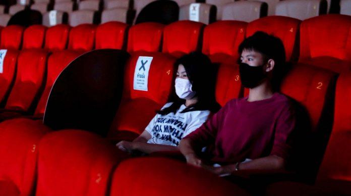 Epidemiolog UGM, Bayu Satria, MPH., menanggapi rencana pembukaan kembali bioskop secara serentak pada (29/07/20) mendatang. Foto: akurat