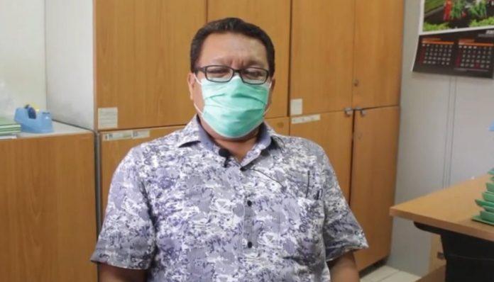 Dosen Departemen Perikanan UGM, Dr. Susilo Budi Priyono, S.Pi., M.Si. menyampaikan cara menangani limbah budidaya ikan. Foto: Ist