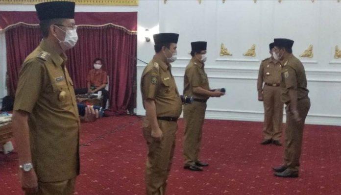 Tiga warga KAGAMA mendapat amanah baru sebagai pelaksana tugas bupati di lingkup Provinsi Bengkulu. Foto: Bengkuluinteraktif
