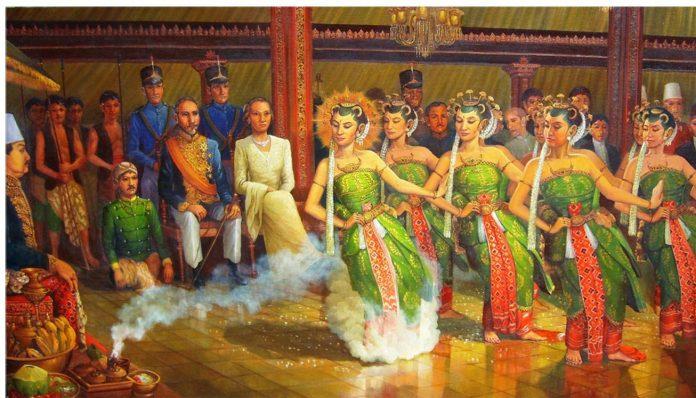 Ketua Lembaga Olah Kajian Nusantara, Dr. Purwadi, M.Hum., membabar beberapa perjalanan spiritual yang dilakukan Panembahan Senopati, Raja Mataram. Foto: Ist (Ilust. Bedhoyo Ketawang)