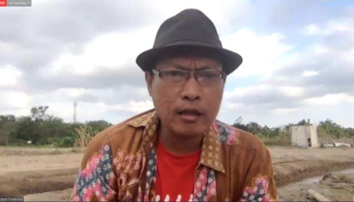 Aktivis KAGAMA Gelanggang, Iqbal Tuwasikal, punya mimpi besar untuk memajukan petani. Foto: Ist
