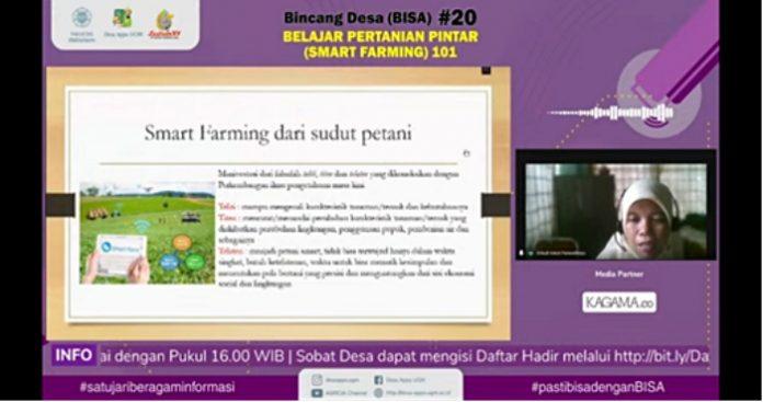 Smart farming disebut-sebut sebagai masa depan pertanian di Indonesia. Foto: Ist