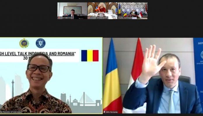 Indonesia dan Rumania sepakat untuk lebih meningkatkan kerja sama kedua negara. Foto: Ist