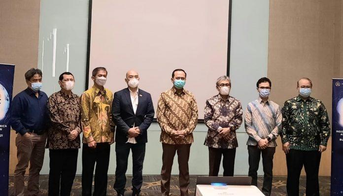 Pertemuan Direktorat Jenderal Amerika dan Eropa Kemlu RI dengan pelaku usaha DI Yogyakarta (10/4/2021). Foto: Ist