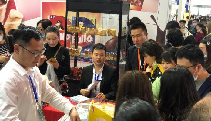 Dubes RI untuk RRT merangkap Mongolia alumnus UGM ini berujar, penetrasi pasar baru sekaligus penguatan brand image menjadi dua target yang sukses tercapai dalam partisipasi Indonesia di ajang pameran CFDF tahun ini. Foto: KBRI Beijing