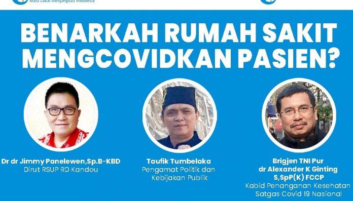 Belakangan ini banyak keluhan masyarakat melalui media sosial terkait pelayanan pasien Covid-19 di Sulawesi Utara (Sulut). Foto: Ist